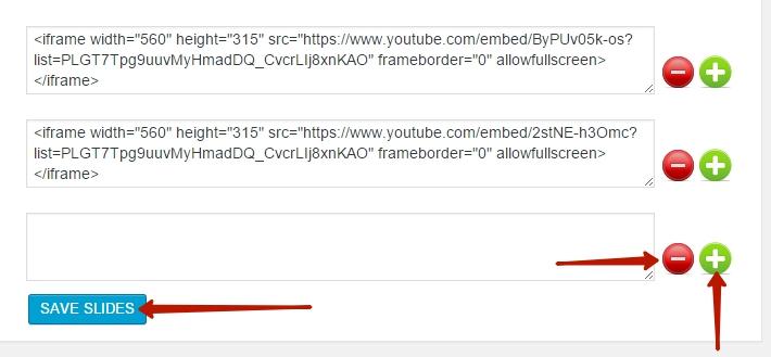 html слайдер