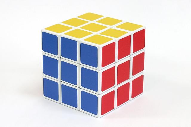 фон кубик рубика