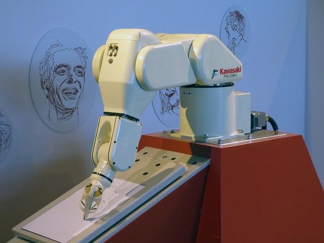 бот чат рисование робот
