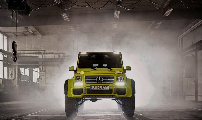 Mercedes-Benz G-Класс 4x4² W463