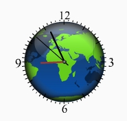 Local Time Clock