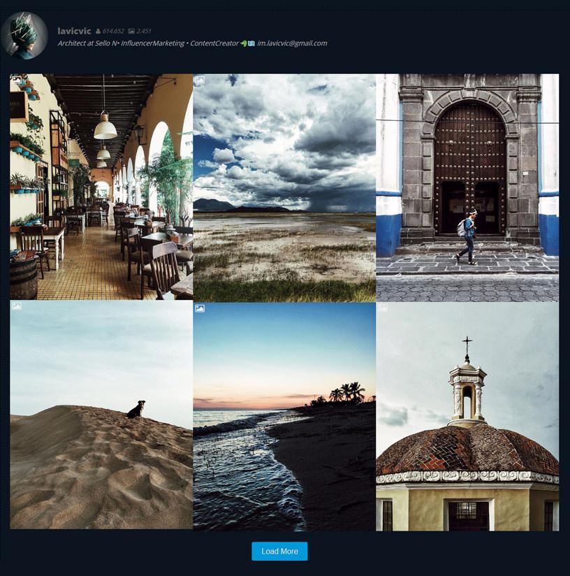 Feed Instagram инстаграм на сайт