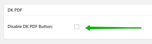 Disable DK PDF Button скрыть кнопку
