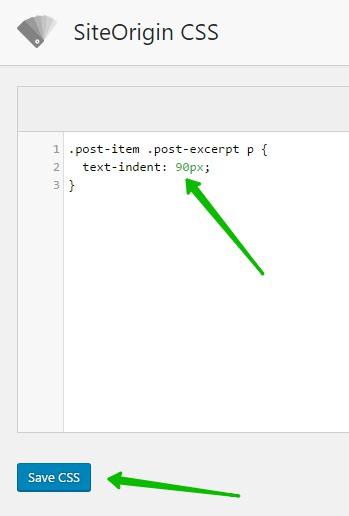 text-indent в CSS