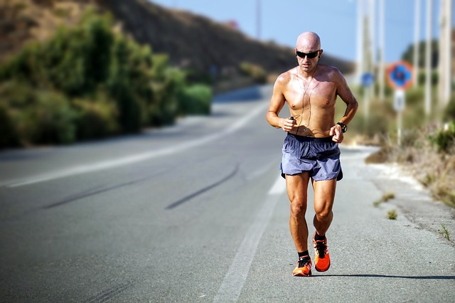 бег, спортсмен, аэромен, тренировка