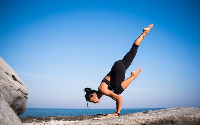 фитнес йога медитация поза