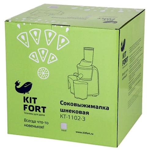 Соковыжималка шнековая Kitfort