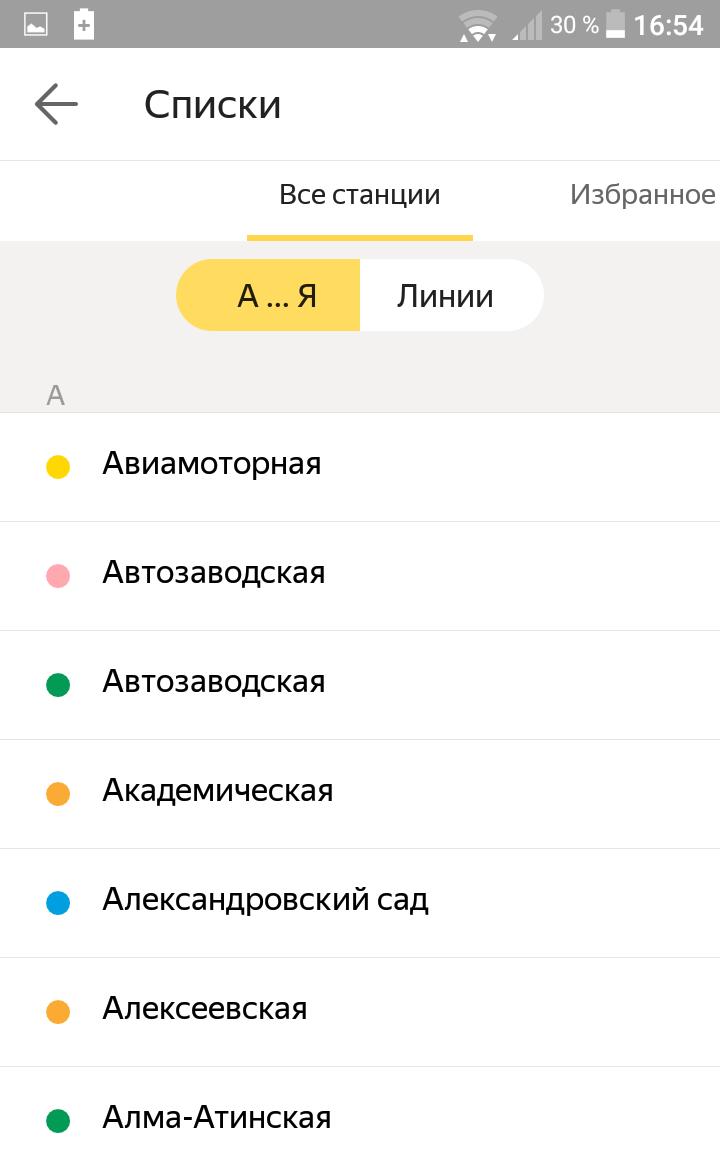 станции метро Москвы