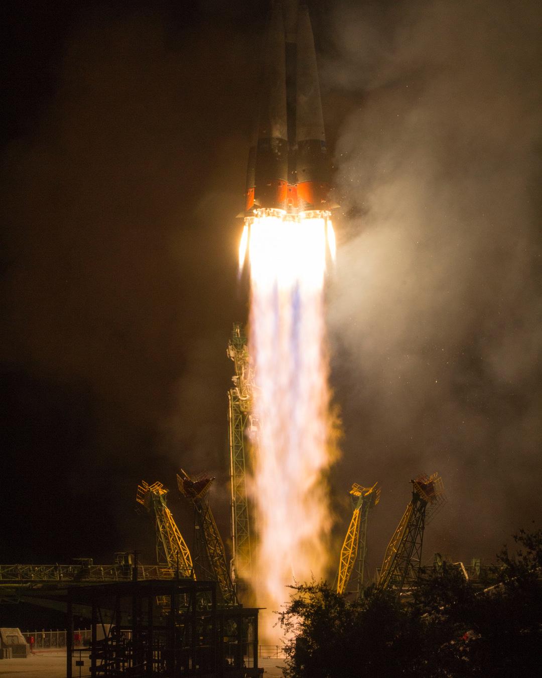 космодром байконур запуск Прогресс МС-09 фото