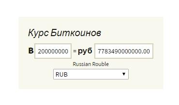 биткоин, курс, конвертер