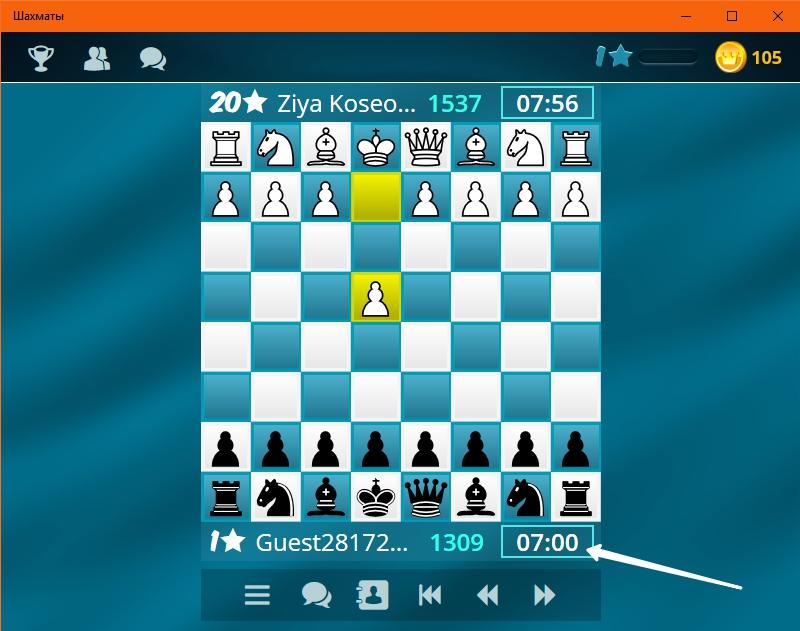 шахматы партия