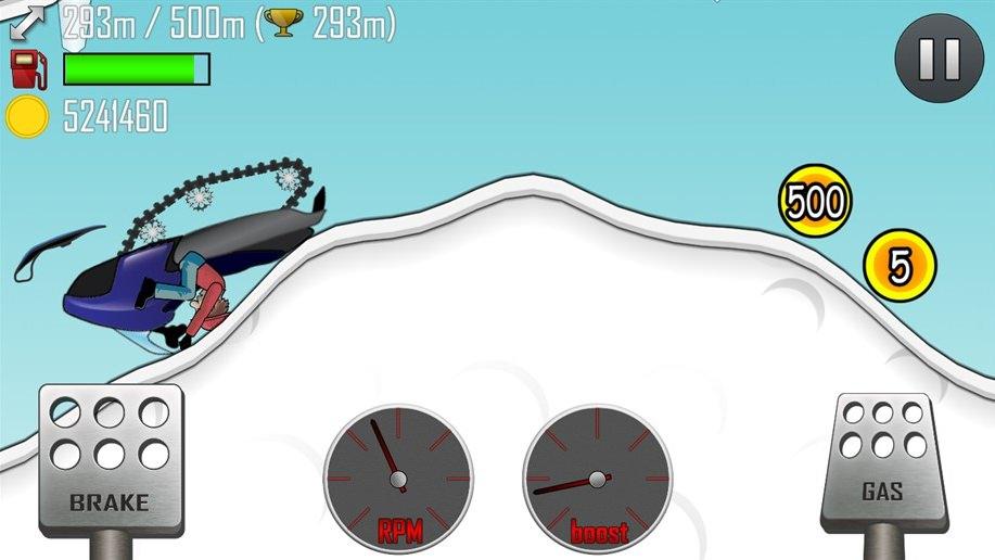 Игра Hill Climb Racing