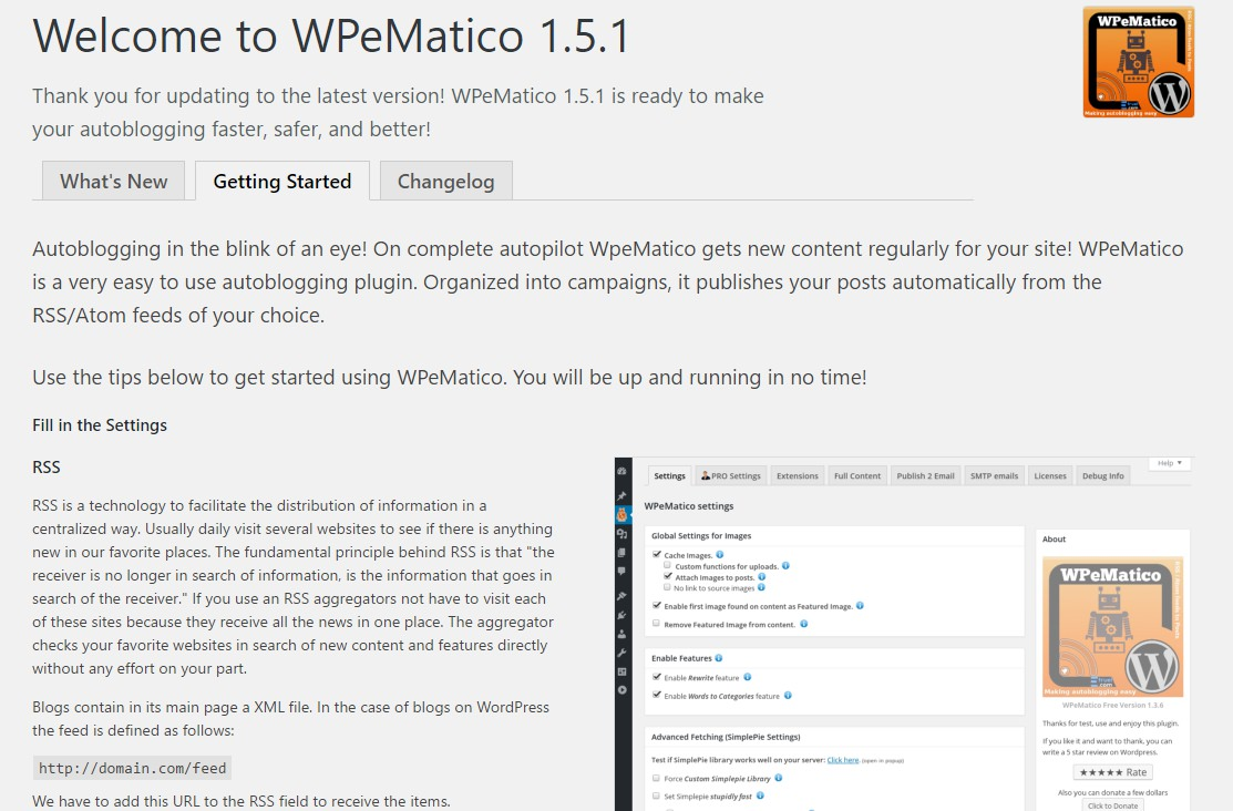 WPeMatico WordPress