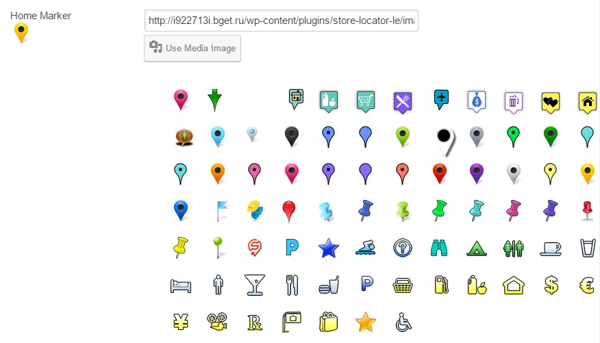 Marker maps WordPress