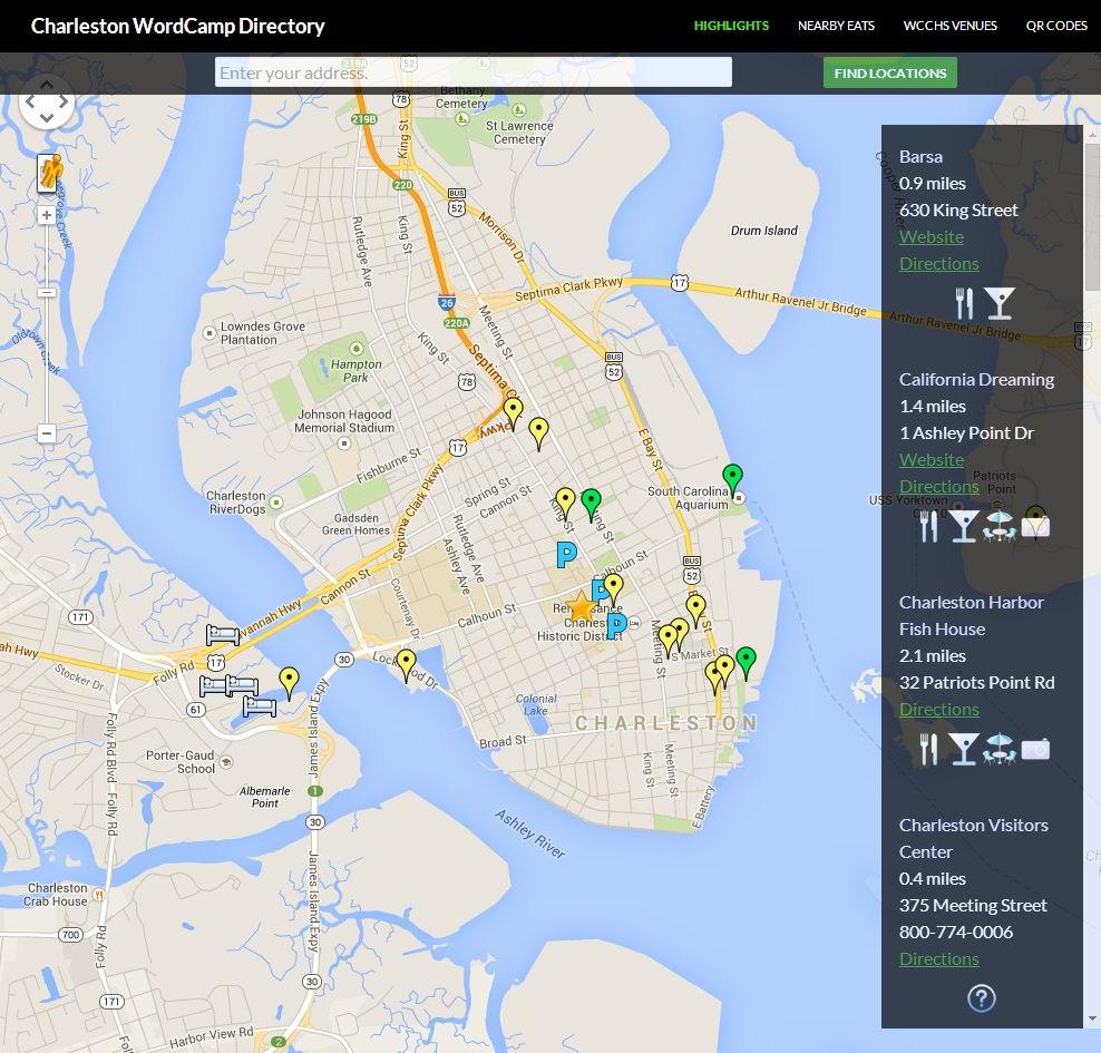 поиск по карте плагин WordPress