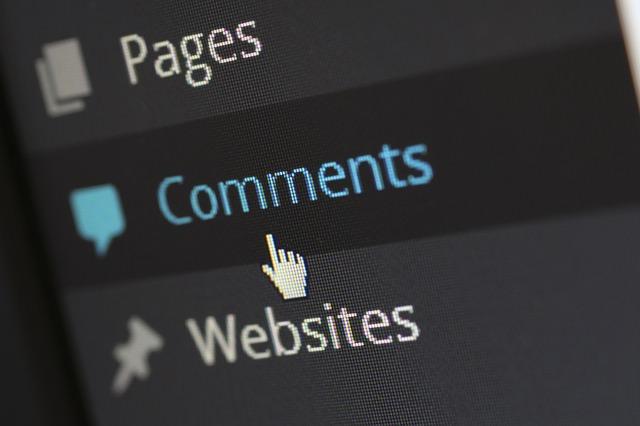 комментарии для страницы Wordpress