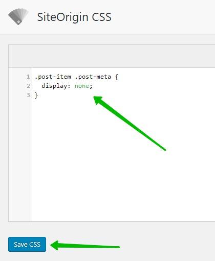 сохранить CSS стили