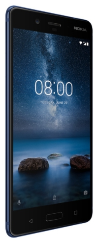 Смартфон Nokia 8 DS Tempered Blue