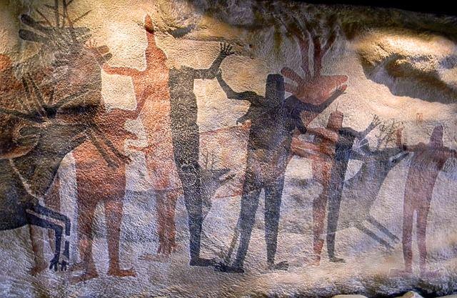 обряд знаки надписи скала