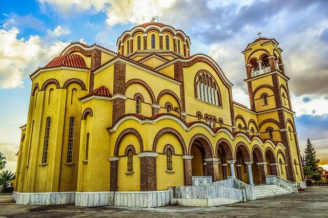 Кипр церковь паралимни