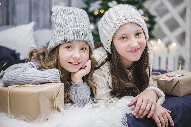 дети новый год