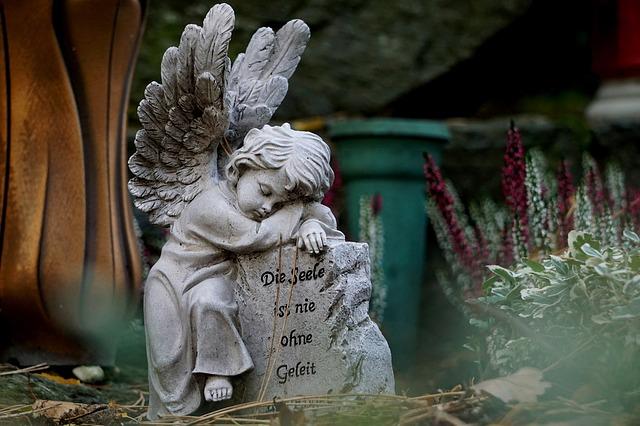душа ангел могила