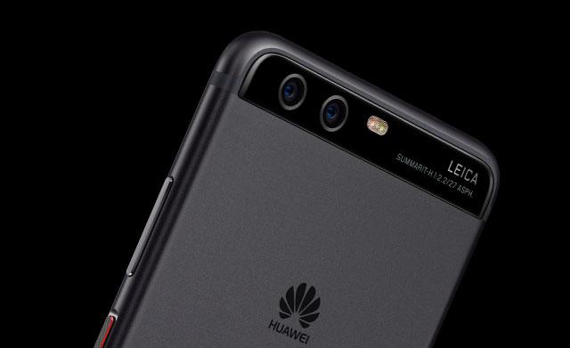 Huawei P10 top