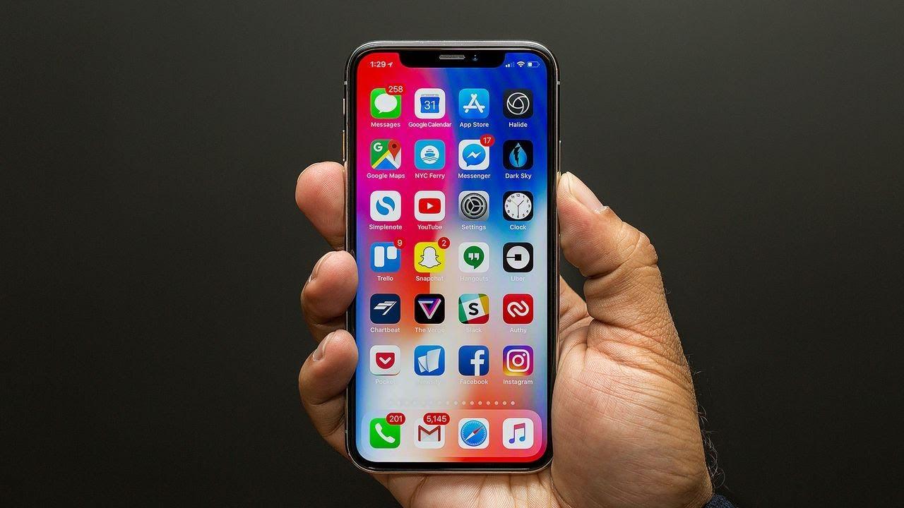 тема iphone x