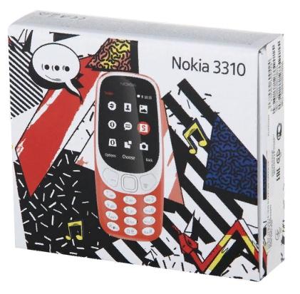 nokia 3310 коробка упаковка