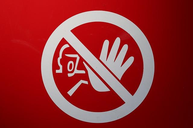 запрещённые товары авито доставка знак запрещено