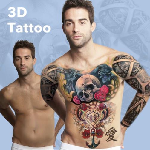 татуировка фотошоп