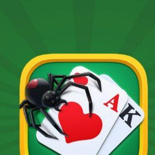 игра паук пасьянс 2, 4 масти