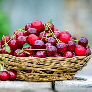 корзина ягоды