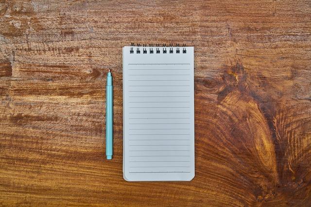сообщение блокнот ручка письмо