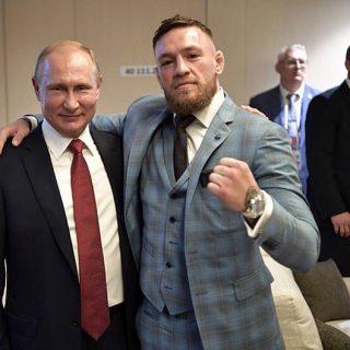 Путин и Макгрегор фото