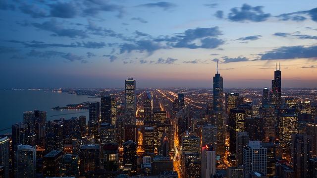 город небо облака красивое фото