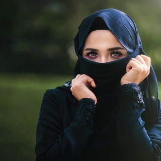женщина хиджап скрытая монахиня