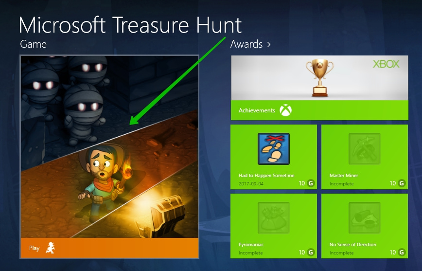 Windows 10 Treasure Hunt