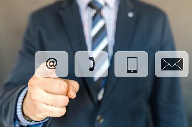 контакты кнопка приложение email телефон