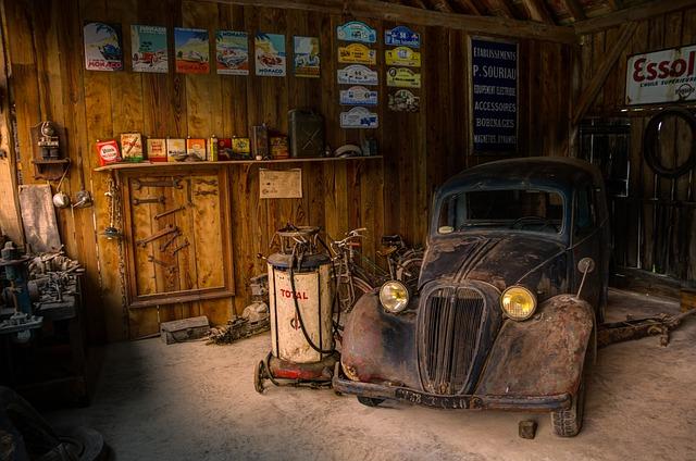 машина гараж ремонт