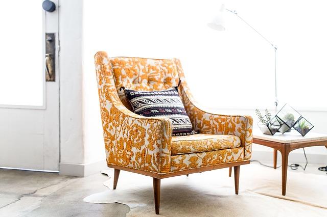 стильное кресло