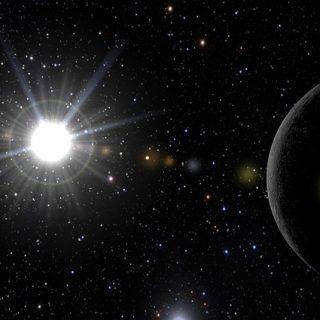 космос вселенная звезда система