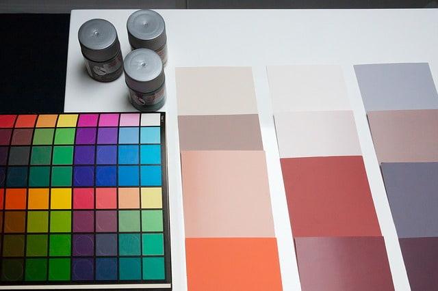 дизайн интерьер краски цвета творчество искусство