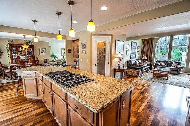 кухня пол подогрев плита
