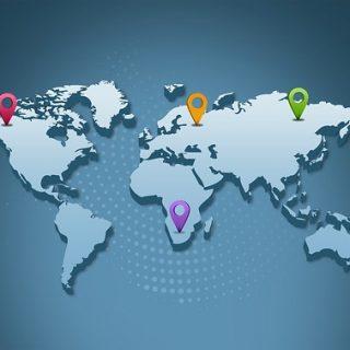 карта город география