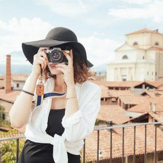 фотограф фото фотоаппарат девушка город