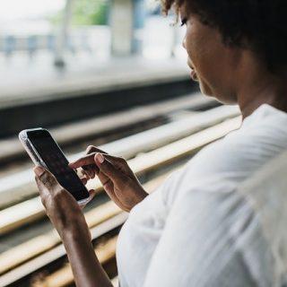 смартфон приложение африканка