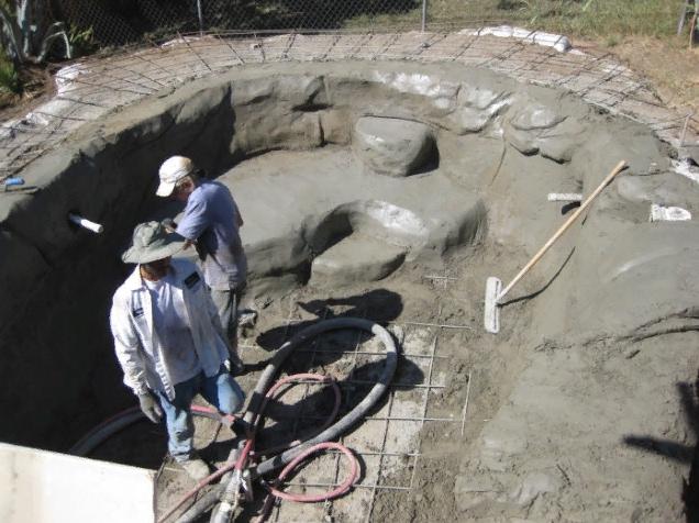 строительство пруд