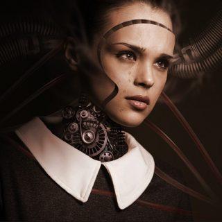 робот женщина