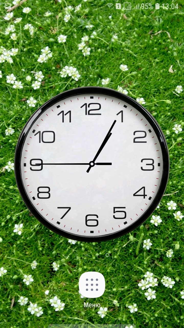 часы андроид